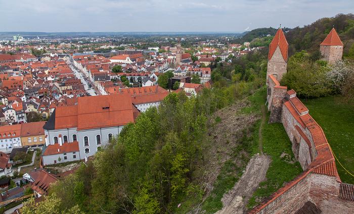 Landshut Burg Trausnitz Altstadt Freyung Jesuitenkirche St. Ignatius Neustadt