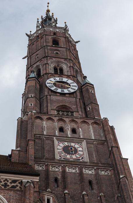 Landshut Altstadt: Martinskirche (Stadtpfarr- und Kollegiatstiftskirche St. Martin und Kastulus)
