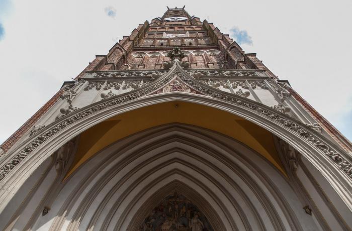 Altstadt: Martinskirche (Stadtpfarr- und Kollegiatstiftskirche St. Martin und Kastulus) Landshut 2017