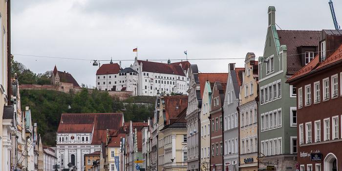 Landshut Altstadt: Neustadt Burg Trausnitz Jesuitenkirche St. Ignatius