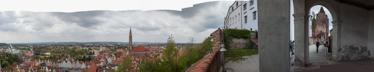 Landshut Burg Trausnitz, Martinskirche, Altstadt, Neustadt