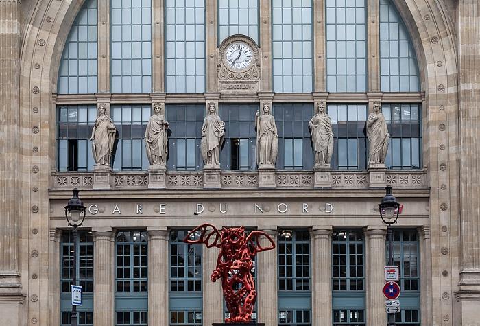 Rue de Dunkerque: Gare du Nord Paris