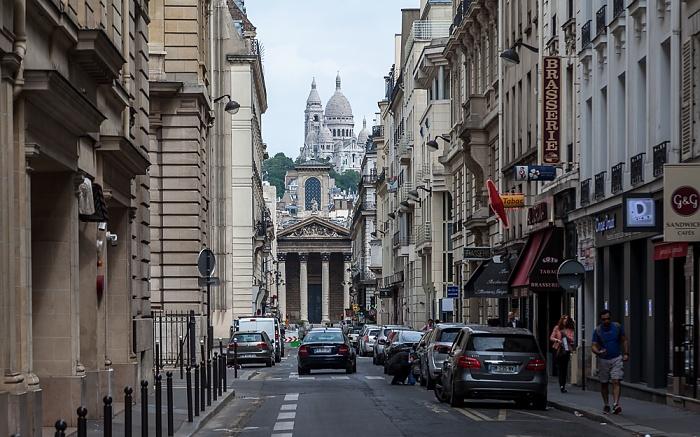Paris Rue Laffitte Basilique du Sacré-Coeur Église Notre-Dame-de-Lorette Montmartre