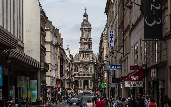 Paris Rue de la Chaussée-d'Antin Cathédrale de la Sainte-Trinité