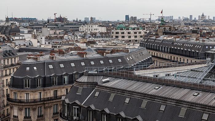 Paris Blick von den Galeries Lafayette