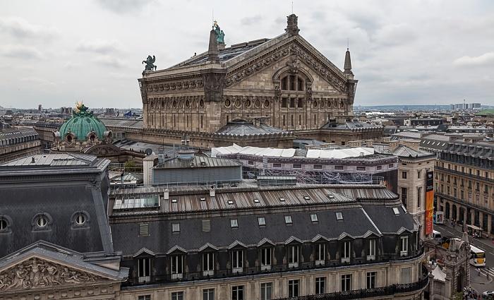 Paris Blick von den Galeries Lafayette: Opéra Garnier