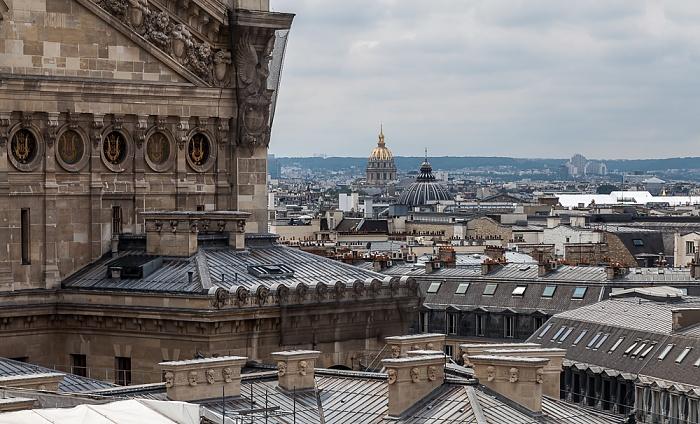 Paris Blick von den Galeries Lafayette Invalidendom Opéra Garnier