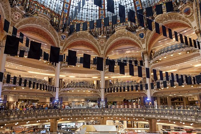 Paris Galeries Lafayette: Große Halle
