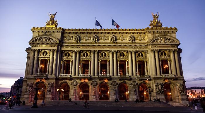 Place de l'Opéra: Opéra Garnier Paris