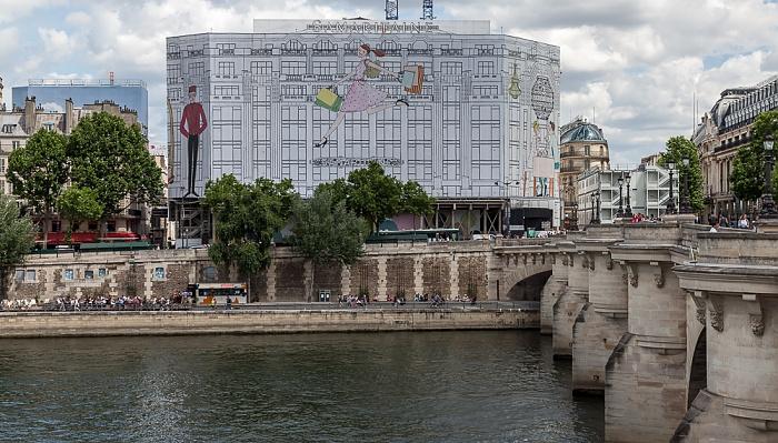 Seine, Pont Neuf, La Samaritaine Paris