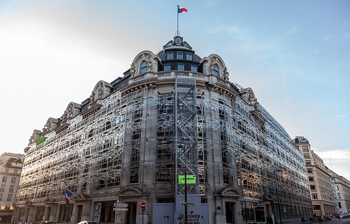 Paris Rue Saint-Honoré / Rue Croix des Petits Champ: Centre national des arts plastiques