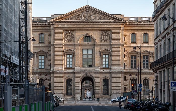 Paris Rue de Marengo Musée du Louvre