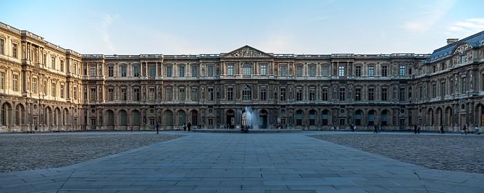Paris Musée du Louvre: Cour Carrée