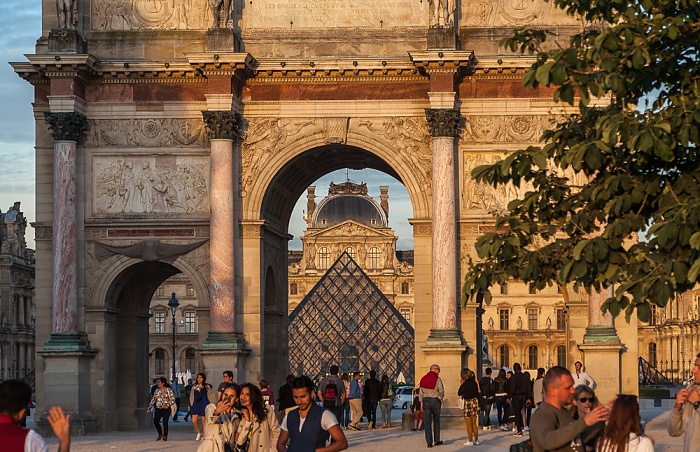 Paris Arc de Triomphe du Carrousel Musée du Louvre