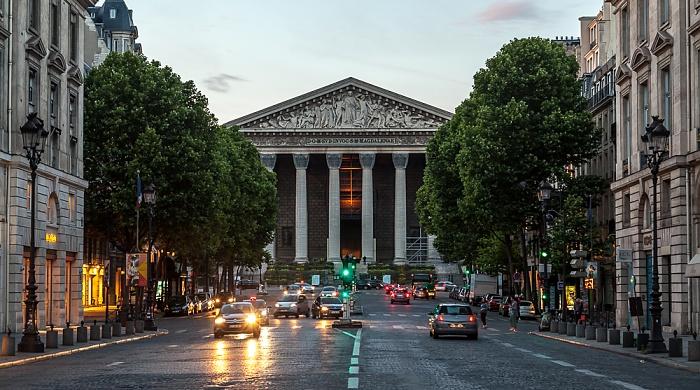 Rue Royale, La Madeleine Paris