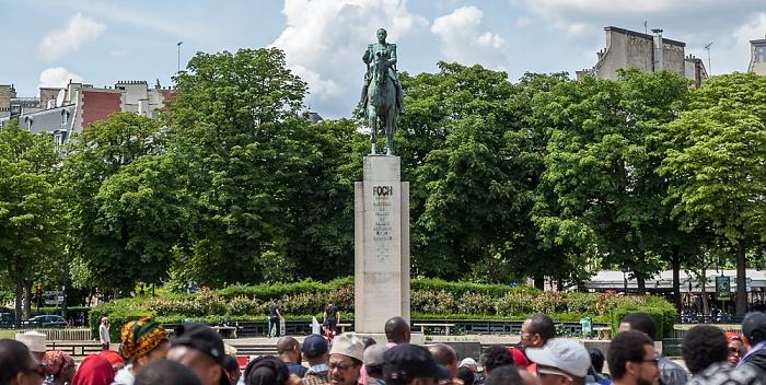 Place du Trocadéro-et-du-11-Novembre: Reiterstatue des Marschalls Foch Paris