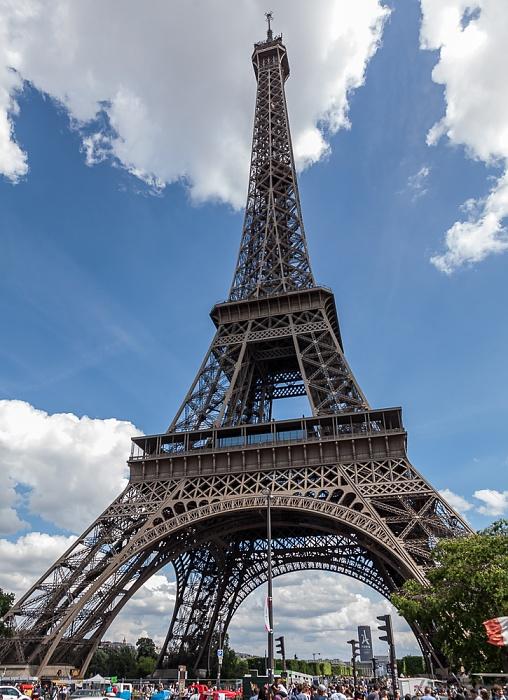 Eiffelturm (Tour Eiffel) Paris 2017