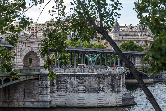 Pont de Bir-Hakeim, Seine Paris