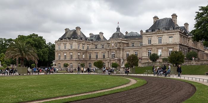 Paris Quartier Latin: Jardin du Luxembourg - Palais du Luxembourg
