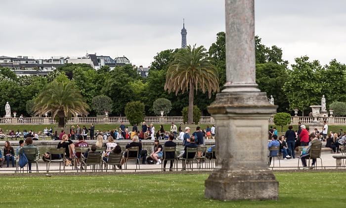 Paris Quartier Latin: Jardin du Luxembourg Eiffelturm