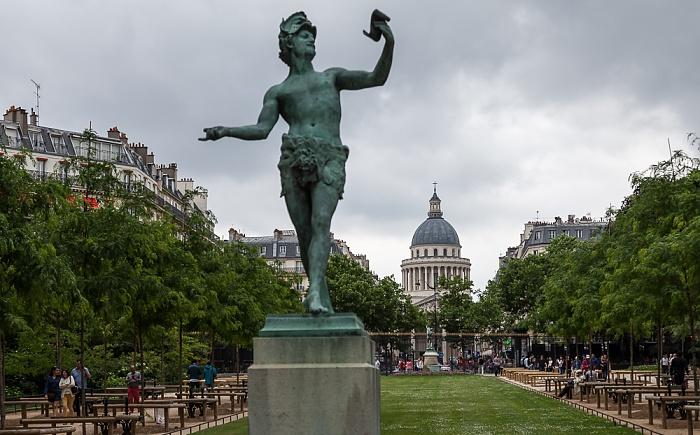Paris Quartier Latin: Jardin du Luxembourg Panthéon