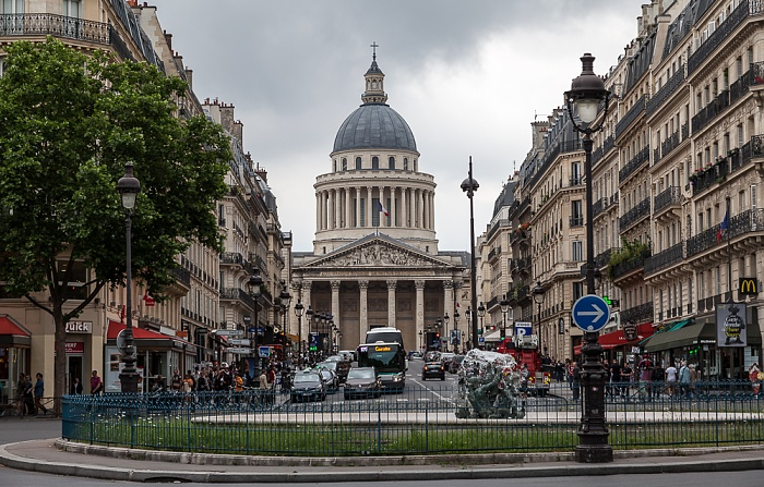 Place Edmond-Rostand, Rue Soufflot, Panthéon Paris