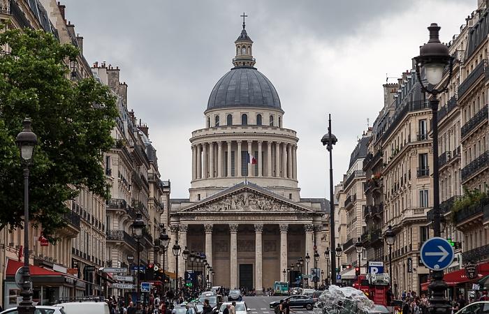 Paris Rue Soufflot, Panthéon