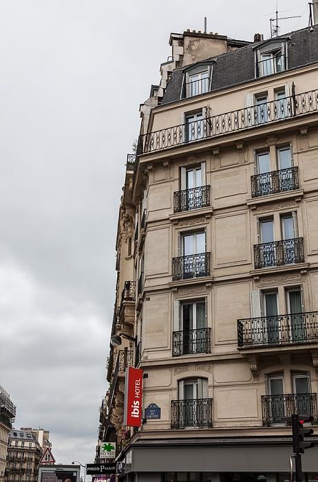 Rue La Fayette / Rue de Saint-Quentin: Hotel ibis Paris Gare du Nord TGV Paris
