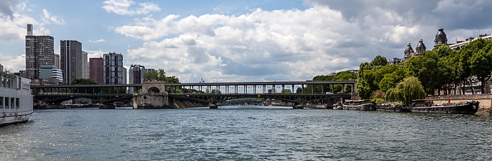 Paris Seine, Pont de Bir-Hakeim Île aux Cygnes