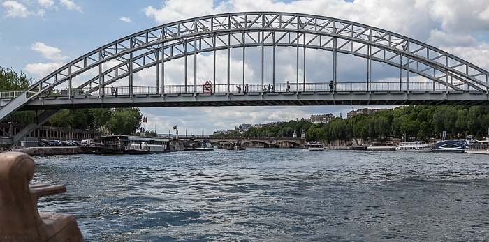 Paris Seine, Passerelle Debilly Pont d'Iéna Port de La Bourdonnais