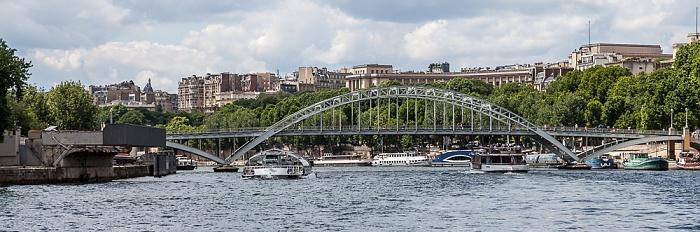 Paris Seine, Passerelle Debilly