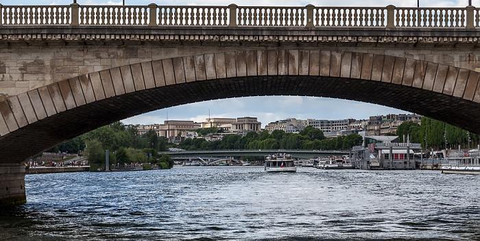 Paris Seine, Pont des Invalides Pont de l'Alma