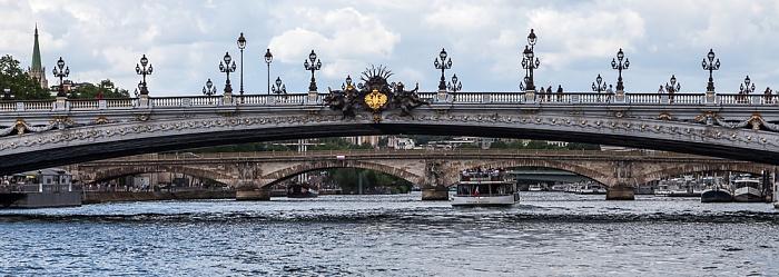 Paris Seine, Pont Alexandre lll, Pont des Invalides Pont Alexandre III