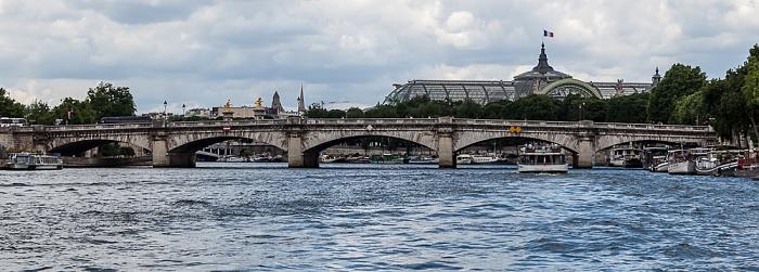 Paris Seine, Pont de la Concorde Grand Palais