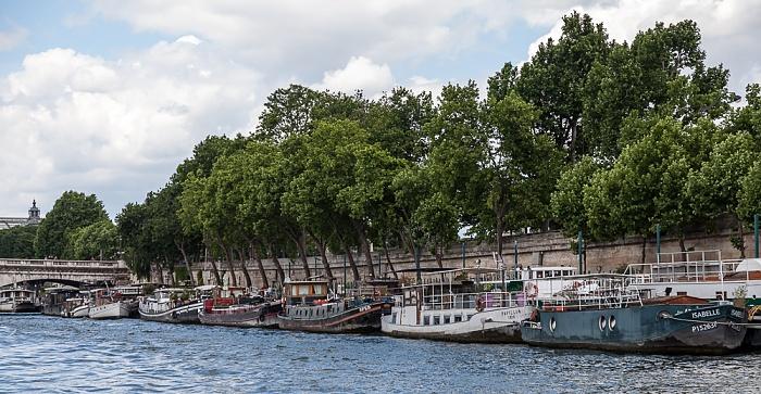 Paris Seine, Quai des Tuileries Pont de la Concorde