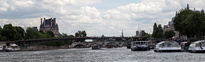 Paris Seine, Passerelle Léopold-Sédar-Senghor Pont Royal