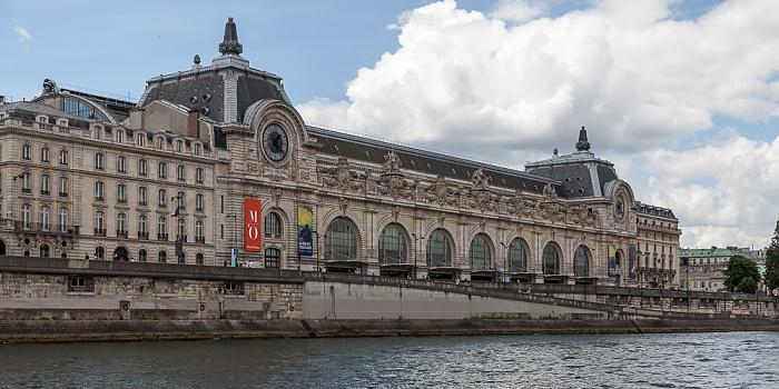 Paris Seine, Port de Solférino, Quai Anatole-France, Musée d'Orsay