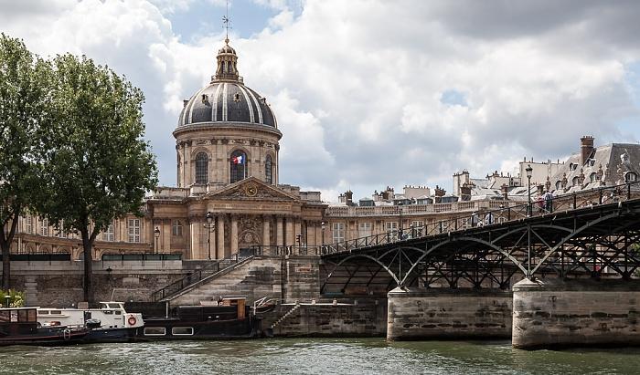 Paris Seine, Quai de Conti, Institut de France Pont des Arts