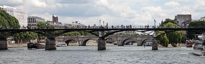 Paris Seine, Pont des Arts, Pont Neuf