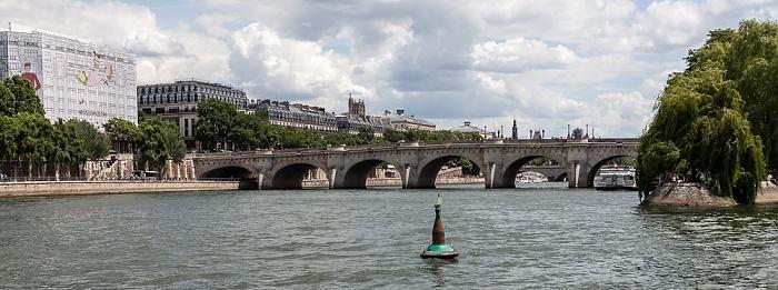 Paris Seine, Pont Neuf La Samaritaine Square du Vert-Galant