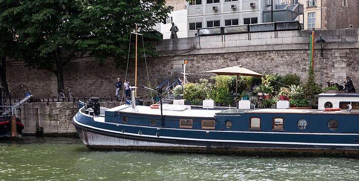 Seine, Quai de Conti Paris