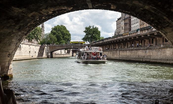 Seine, Pont Saint-Michel Paris