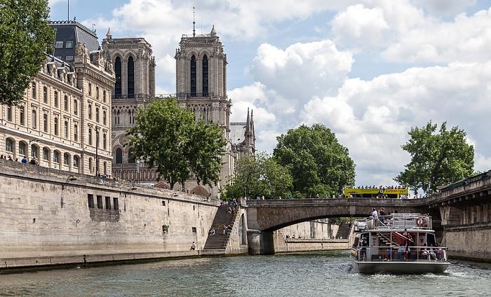 Seine, Petit-Pont-Cardinal-Lustiger Paris