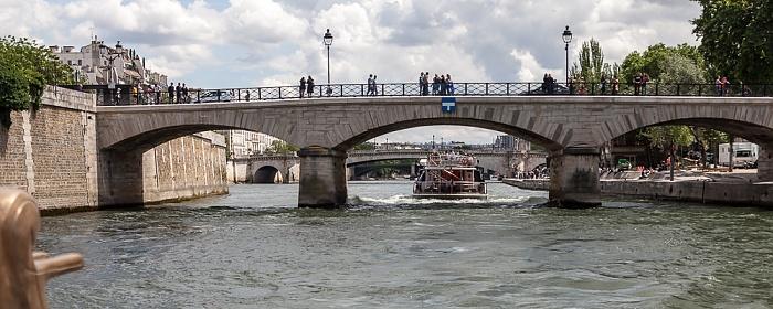 Seine, Pont de l'Archevêché Paris