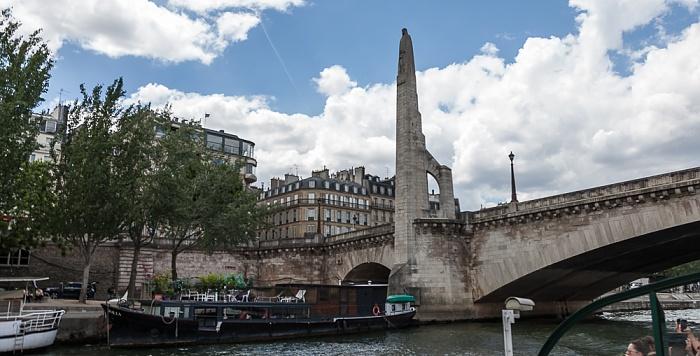 Seine, Port de la Tournelle, Pont de la Tournelle Paris