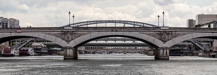 Seine, Pont d'Austerlitz, Viaduc d'Austerlitz, Pont Charles-de-Gaulle Paris