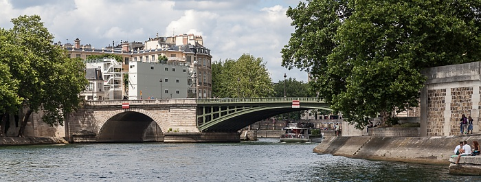 Paris Seine, Pont de Sully Île Saint-Louis Quartier de l'Arsenal