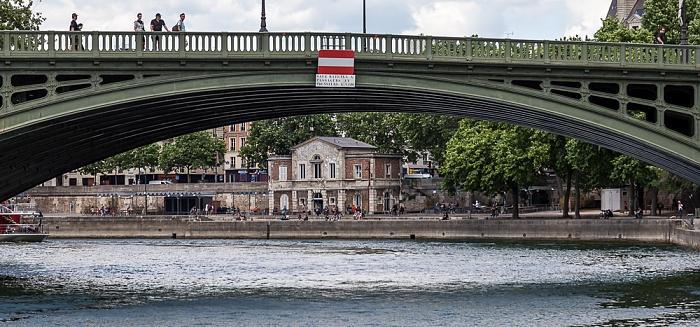 Seine, Pont de Sully, Port des Célestins Paris