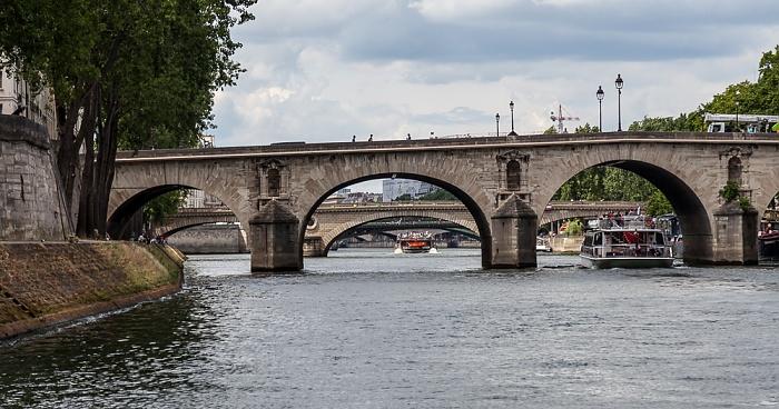 Paris Seine, Pont Marie Île Saint-Louis Pont Louis-Philippe