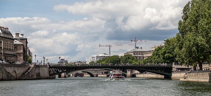 Paris Seine, Pont d'Arcole Île de la Cité Parc Rives-de-Seine Pont Notre-Dame